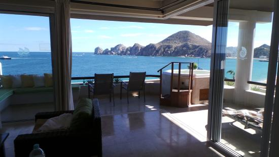 Cabo Villas Beach Resort : view from patio