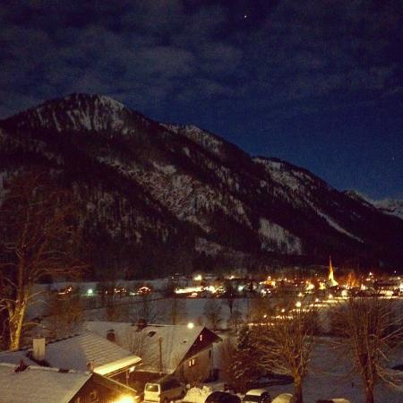 Tannerhof: night view from room