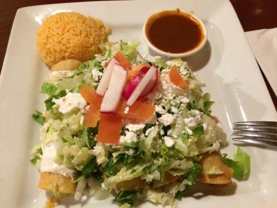 La Conquistadora: Carne tacos fritos !!!❤️