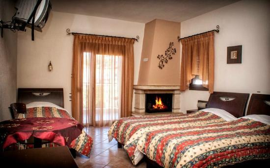 Arnissa, اليونان: triple room