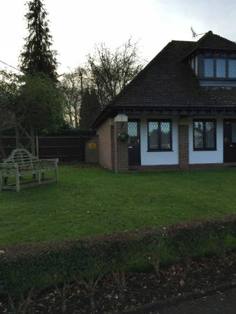 Boxmoor Lodge Hotel: The room we stayed in (ground floor)