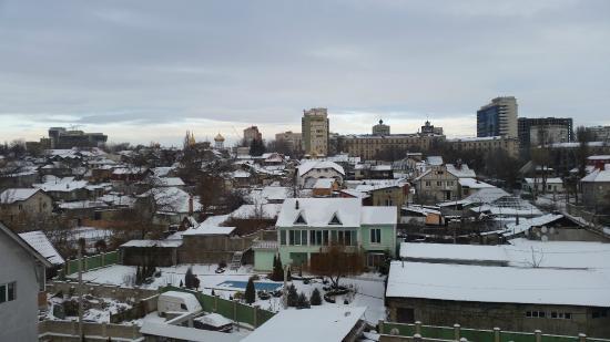 Edem Hotel: Вид из номера на город