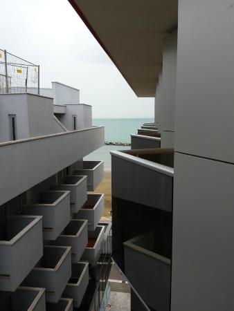 Milano Resort: vista mare laterale