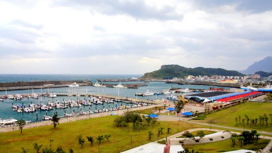 Blue Ocean Hotel: view from room