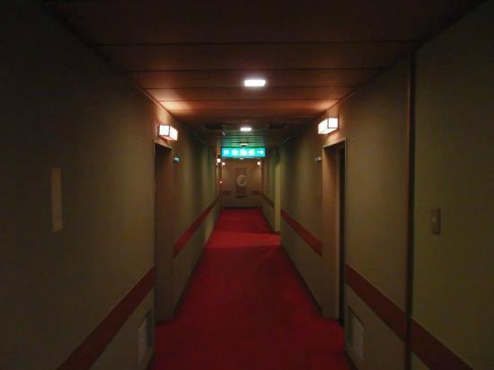Yoshiharu : Down a hallway....