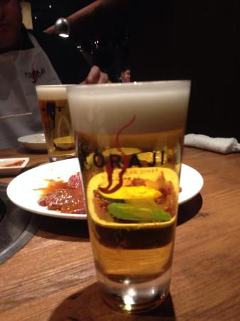 Charcoal Grill Toraji Hibiyaten: Beer & meat