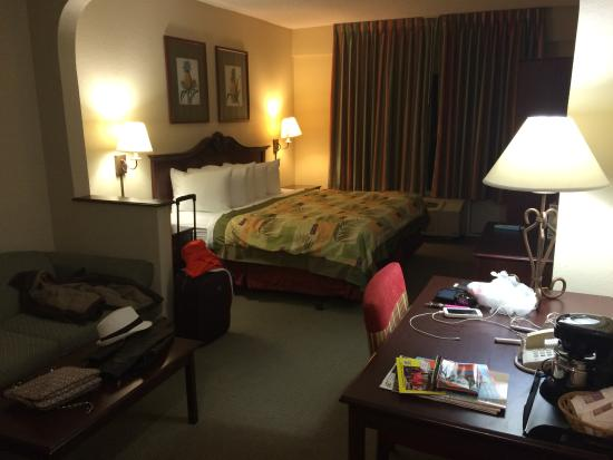 St Augustine Hotel & Suites : The King room