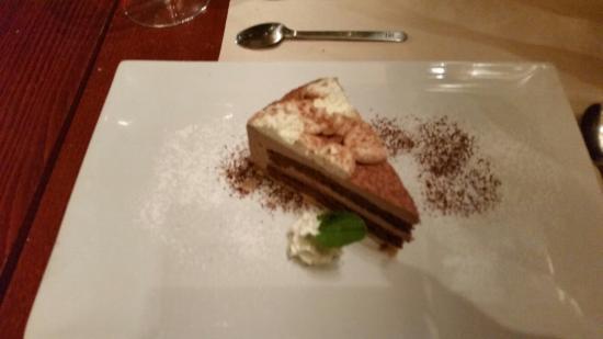 L'Officina : Tarte à la mousse de chocolat