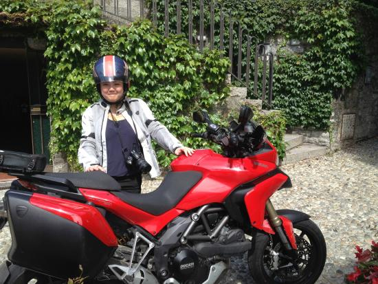 Lake Como Motorbike - Day Tours: Can i try to ride?