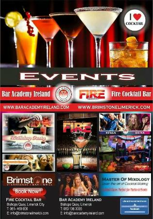 Brimstone Steakhouse Bar & Grill: Parties & Events
