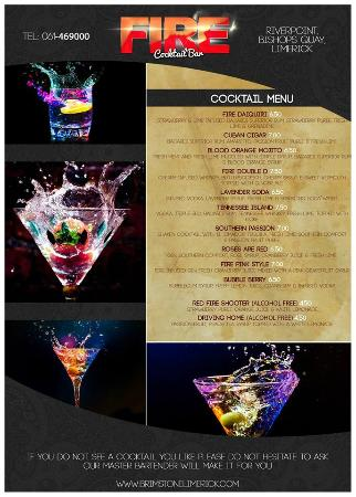 Brimstone Steakhouse Bar & Grill: New Cocktail Menu