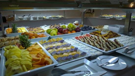 Sunprime Atlantic View: Desserts on Canarian evening (Fridays)
