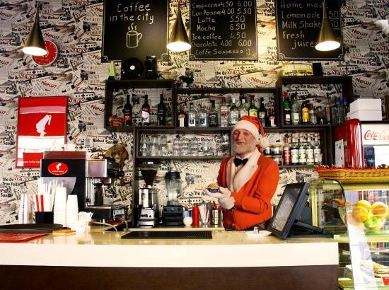 Respublika Espresso Bar: Orange Santa in Respublika