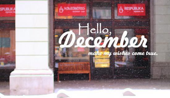 Respublika Espresso Bar: Hello December