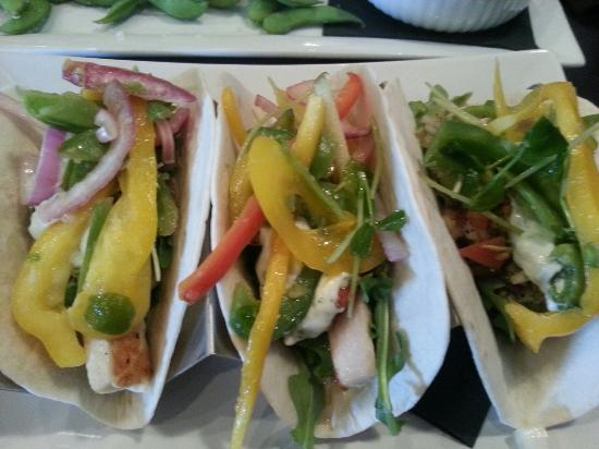 The Heid Out Restaurant and Brewhouse : Fish tacos