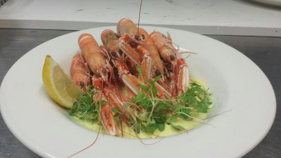 Awsome Seafood - Picture Of Saucy Marys Lodge, Kyleakin ...