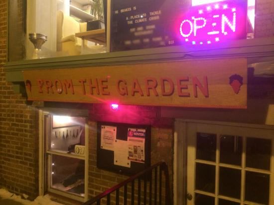 From The Garden: The exterior