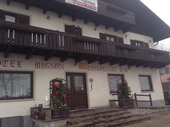 Hotel Mignon : Hotel da fuori