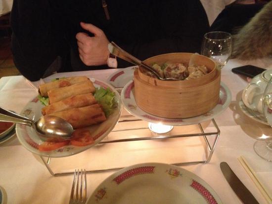 Cafe Restaurant de Cour Tai Mah : 2éme entrée du menu