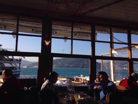 Yosun Restaurant: View from inside