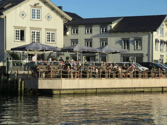 Blaa Mat & Bar: Sommer 2014, foto fra Porsgrunn min by