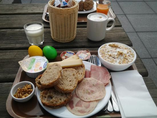 ibis budget Lausanne Bussigny : La mia super colazione. Non manca nulla!