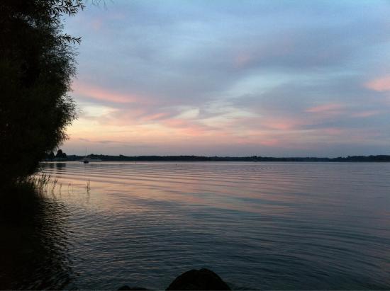 Prien am Chiemsee, Germany: Sunset in priem-am-chiemsee