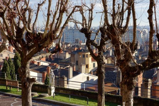 Villa Florentine: Vue de notre chambre