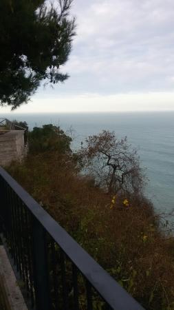 Ristorante il Promontorio : Panorama dal promontorio davanti al ristorante