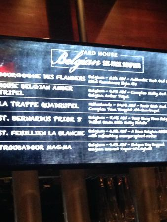 Yard House: Specials