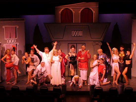 New Lebanon, Estado de Nueva York: A Funny Thing Happened on the Way to the Forum - 2012