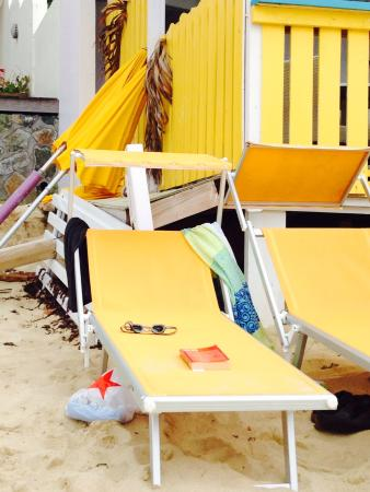 Captain Frenchy The Nice Beach Chairs