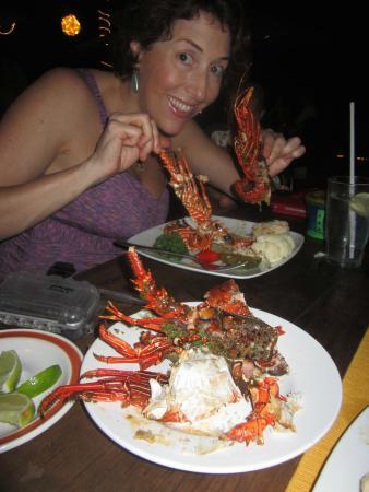 Jardin del Eden : Lobster night