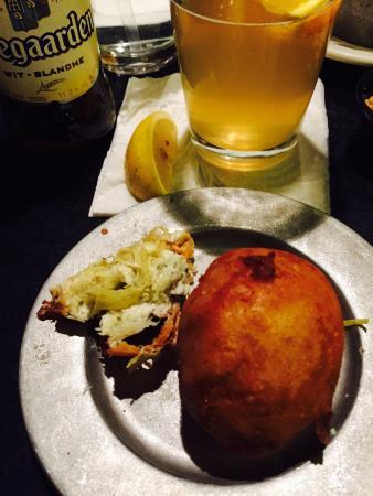 Mill Street Grill : Stuffed artichokes. Wowza!