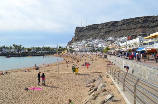 The beach late in the afternoon picture of marina apartments mogan tripadvisor - Marina apartments puerto de mogan ...