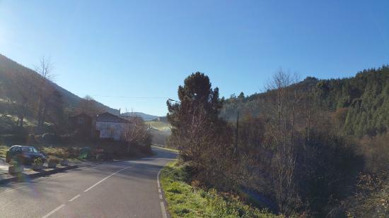 Ribeira de Piquin, Hiszpania: Alrededores del hotel