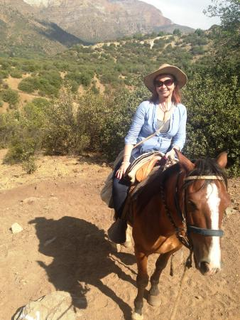 Horse Riding Chile: Me...on a horse!