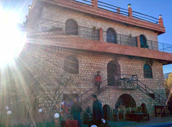 Riad Aslda: The hotel front