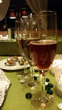 Pension Sabine: our aperitif...