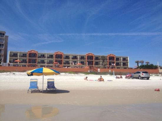La Quinta Inn Suites Oceanfront Daytona Beach Right On The