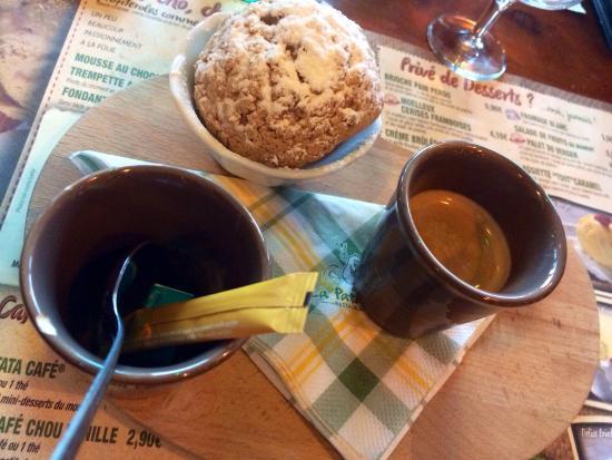 La Pataterie : Café chou vanille
