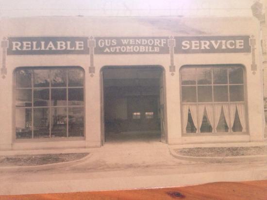 The Maple Counter Cafe: Maple Counter Cafe building circa 1930.