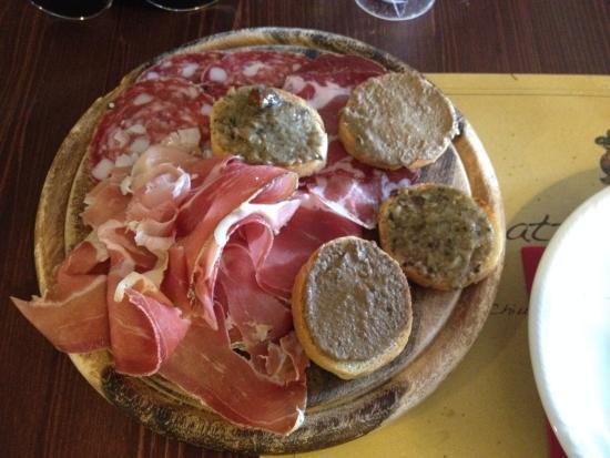 Trattoria Ponterotto: Antipasto Toscano