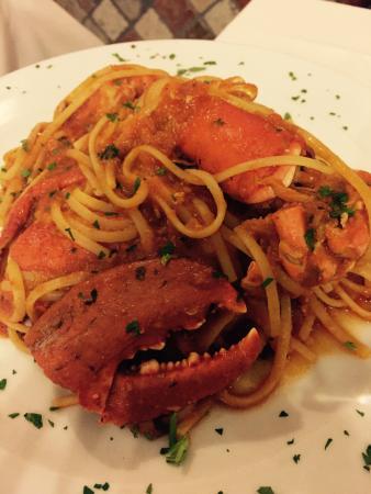 Ristorante La Villetta : Linguine with lobster - to die for :-)