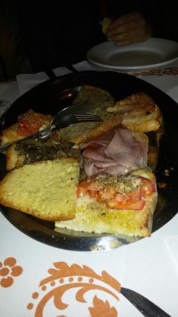 Ristorante Pasini Enoteca: Buone le bruschette!!!