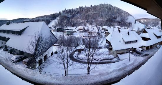 Hotel Silberfelsen: View from our balcony