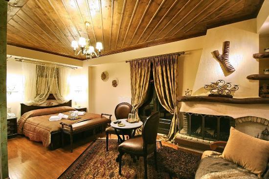 En Dimitsani: Δωμάτιο