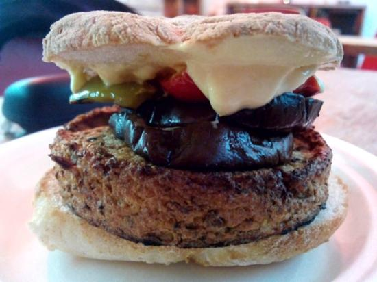 Panino Vegano : Hamburger