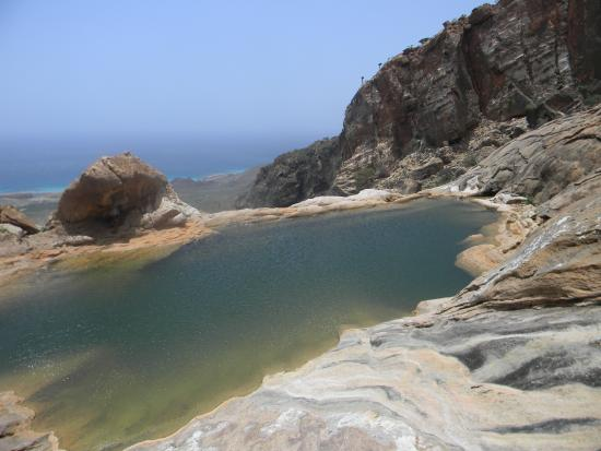 Socotra Island, Yemen: Pool; Homhill Protected Area