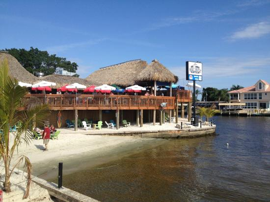 Image result for cape coral yacht club beach images